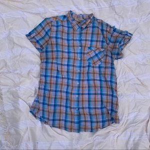 ‼️💙 2/$10 Misses Buttondown Shirt - Large